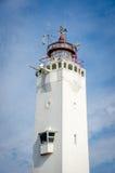 灯塔在诺德韦克 免版税库存照片
