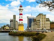 灯塔在马尔摩,瑞典 免版税库存照片