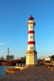 灯塔在马尔摩 免版税库存图片