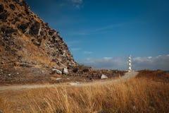 灯塔在马里韦莱斯 图库摄影