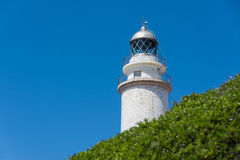 灯塔在Maiorca 库存照片