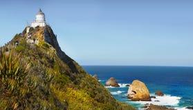 灯塔新的矿块点西兰 库存图片