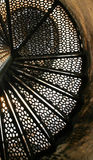 灯塔楼梯 库存照片