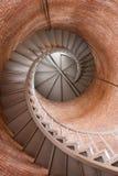 灯塔楼梯 免版税图库摄影