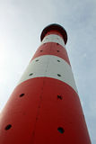 灯塔的向上视图 免版税图库摄影