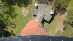 从灯塔的高看法 库存照片