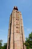 灯塔荷兰westkapelle 库存图片