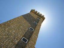 灯塔,圣罗马海角,猎鹰状态委内瑞拉 免版税库存图片