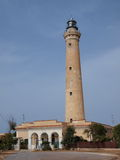 灯塔,圣维托洛卡波,西西里岛,意大利 库存照片