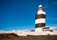 灯塔,异常分支题头,爱尔兰 免版税库存图片