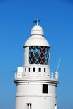 灯塔,直布罗陀 免版税库存照片