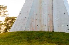 灯塔, Kopu,希乌马岛,爱沙尼亚 免版税库存照片