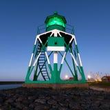 灯塔绿色荷兰 免版税库存图片