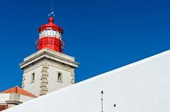 灯塔- Cabo da Roca,葡萄牙 免版税图库摄影