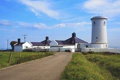 灯塔- Monkash,威尔士 免版税库存照片