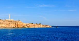 灯塔Sharm El谢赫 免版税库存图片