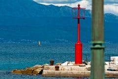灯塔sutivan的海岸 免版税库存照片