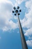 灯柱 免版税库存照片