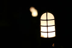 灯点燃 图库摄影