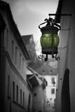 灯笼减速火箭的街道 免版税库存图片