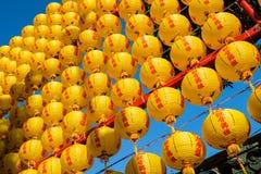 灯笼在台北 免版税库存照片