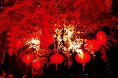 灯笼在帝国宫殿 图库摄影
