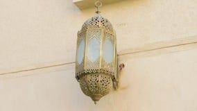 灯笼在清真寺 影视素材