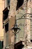 灯笼在老镇 库存照片