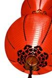 灯笼红色 免版税库存照片