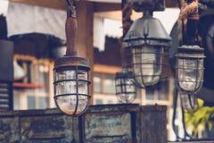 灯笼船 库存照片