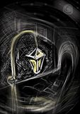 灯笼黄色 免版税图库摄影