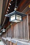 灯笼maruyama寺庙 免版税库存图片