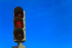 绿灯红色业务量黄色 库存图片
