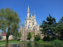 灰姑娘的城堡 免版税库存照片