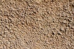 灰棕色涂灰泥的墙壁 图库摄影
