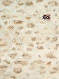 灰泥有出气孔的被仿造的墙壁 库存图片