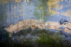 灰泥破裂的纹理 库存照片