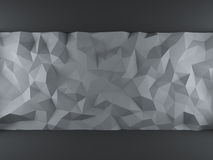 灰色三角背景 免版税库存图片