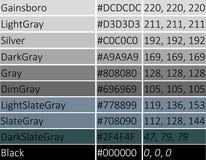 灰色传染媒介例证树荫  库存图片