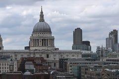 灰色伦敦 免版税库存图片