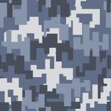 灰色伪装无缝的样式 库存图片