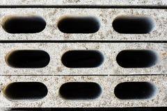 灰色具体建筑块 免版税图库摄影