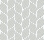灰色叶子形状葡萄酒无缝的墙壁瓦片  库存照片