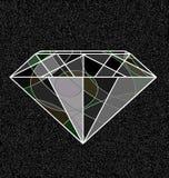 灰色和抽象宝石 库存例证