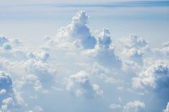 灰色和白色云彩 图库摄影