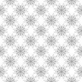 灰色和白色无缝的样式 库存照片