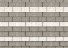 灰色和白水泥的高分辨率阻拦墙壁背景 库存例证