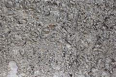 灰色和黑色绘了与铁锈条纹的金属背景创造性、纹理和背景的 免版税库存照片