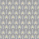 灰色和黄色几何样式 图库摄影