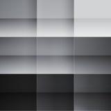 灰色和黑角规抽象背景 免版税库存照片